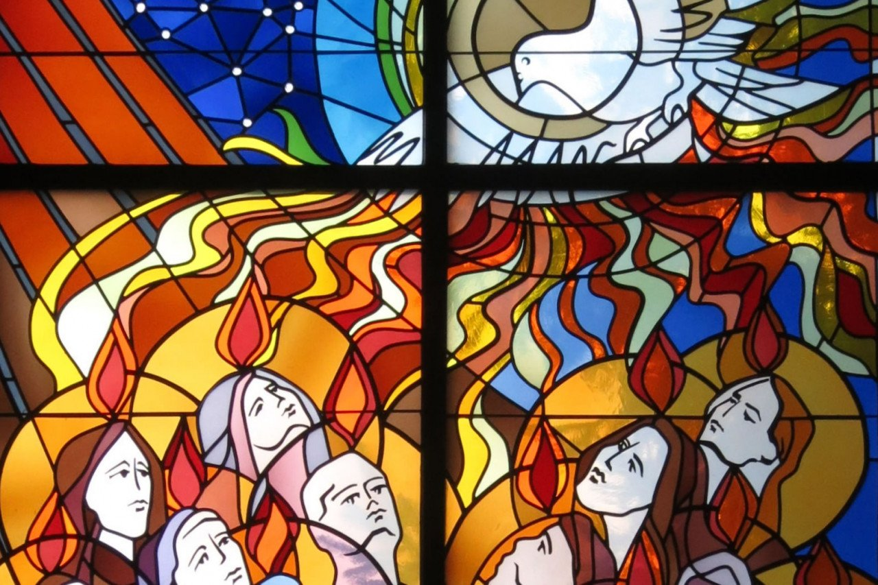 Pentecost Sunday -Year B-  Be Transformed into Christ's Fearless & Courageous Witnesses By The Holy Spirit.