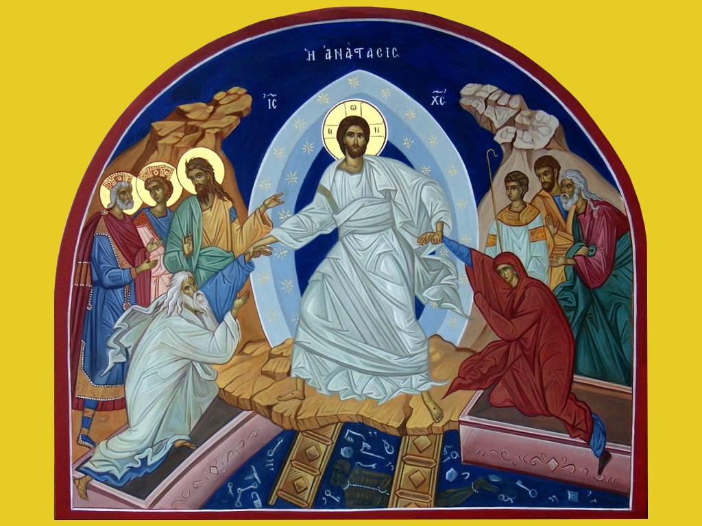 Easter Sunday -Year B- Seek What is Above, Where Christ is Seated At Right Hand of God (Colossians 3:1)